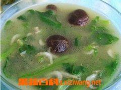 果蔬百科菠菜汤的做法教程
